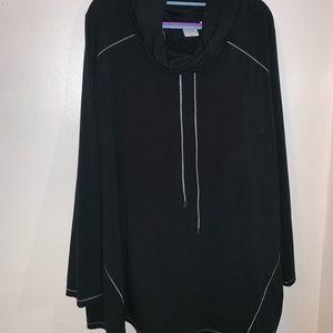 Plus Size Sport Long Sleeve Top